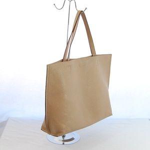 Handbags - 2 Strap Tan Tote Bag